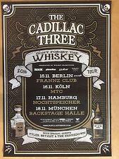 THE CADILLAC THREE 2016 TOUR -- orig.Concert Poster - Konzert Plakat A1 xx
