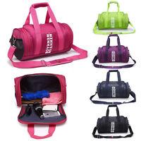 Women Men Sports & Gym Holdall Bag - Training Travel Duffle Shoulder Bag