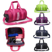 Women Men Sports & Gym Holdall Bag - Training Travel Duffle Shoulder Bag