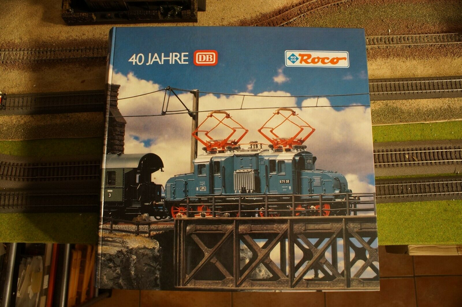 Roco 43031, motor eléctrico E71032, Conjunto de tren de colección, escala Ho