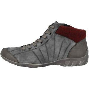 Details zu Rieker Eagle Serbia Filz Schuhe Damen Antistress Stiefeletten Boots L6545 46