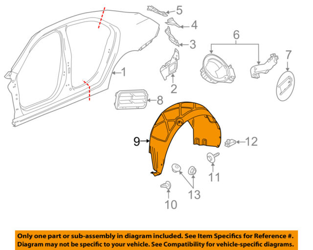 GM OEM 22885773 Body Parts Automotive
