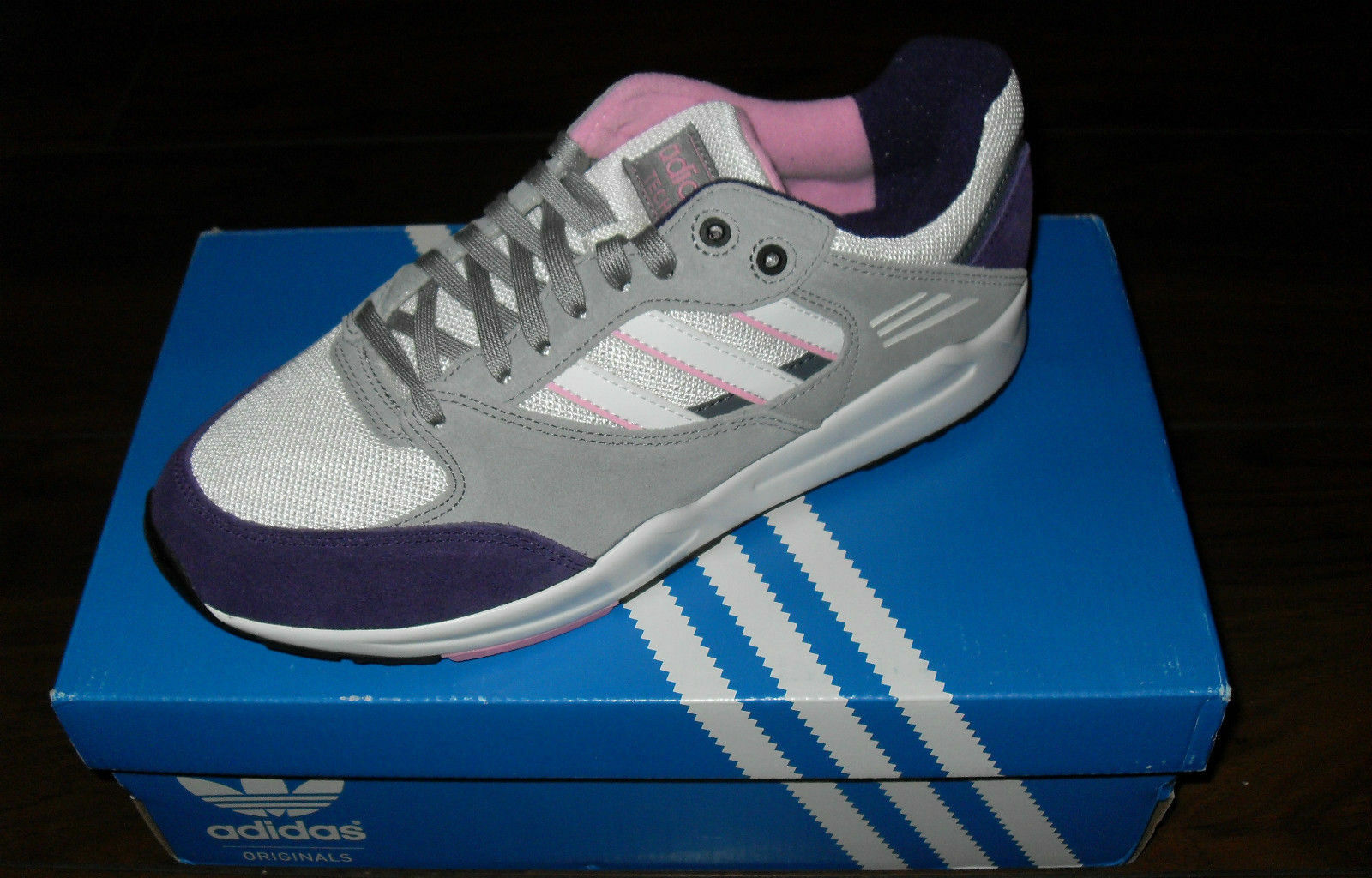 Adidas Originals Tech Super Trainers Womens Size UK 6