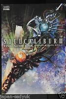 JAPAN Soulcalibur III Final Guide Book Complete Set Namco