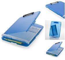 clipboard office paper holder clip. Clip Board Office Storage Box Clipboard Paper Pencil Holder Case Slim E