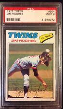 1977 Topps Jim Hughes #304 Baseball Card