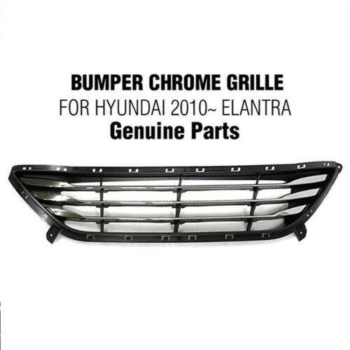 Genuine Parts Front Bumper Chrome Low Grille Tray For HYUNDAI 2011-13 Elantra MD