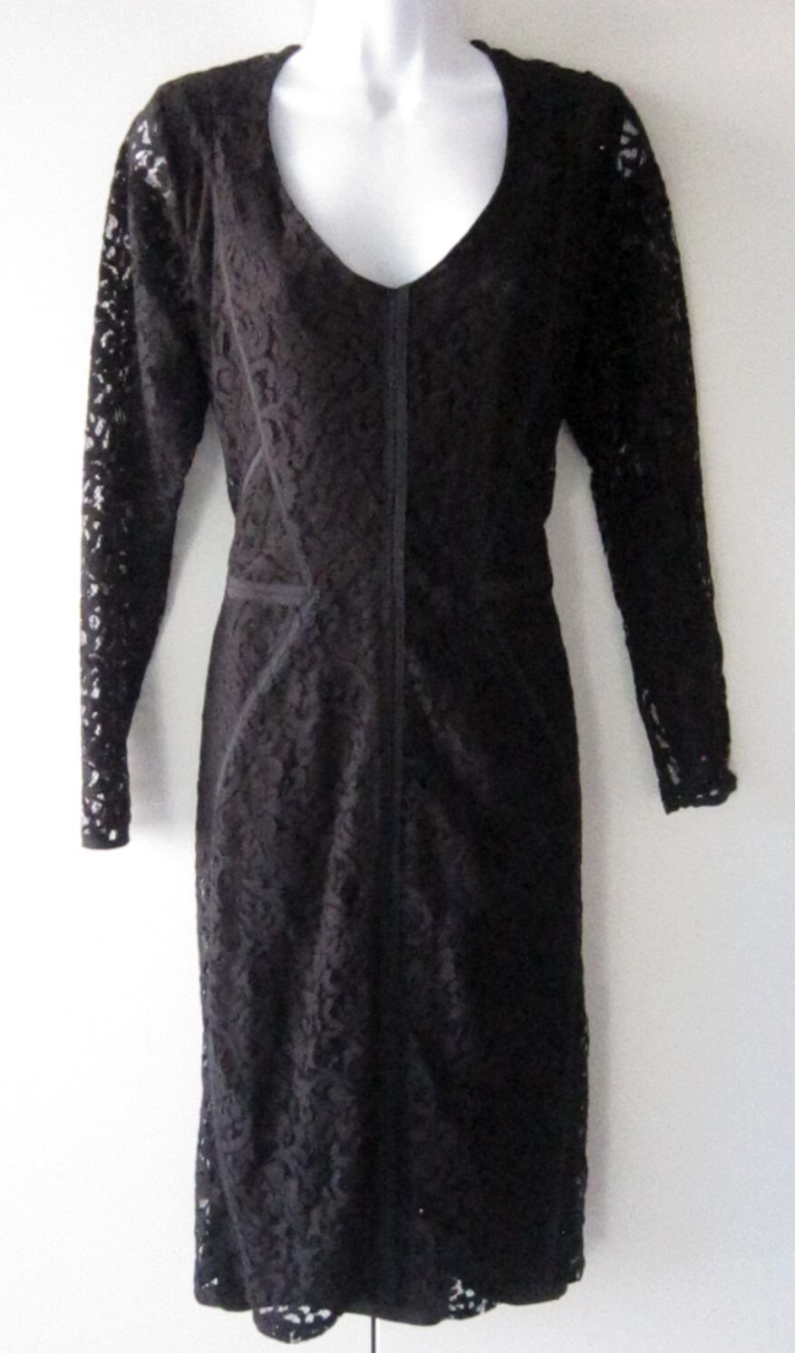 ANN TAYLOR Midnight Lace Dress Size 12  Brand new with tags attached