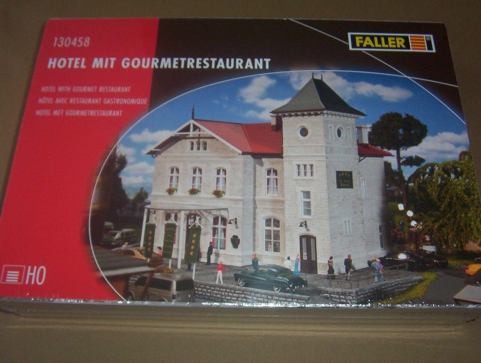 Faller 130458 Hotel mit Restaurant. selten  |       b1f8f0