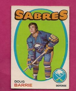 1971-72-OPC-22-SABRES-DOUG-BARRIE-ROOKIE-VG-CARD-INV-A6692