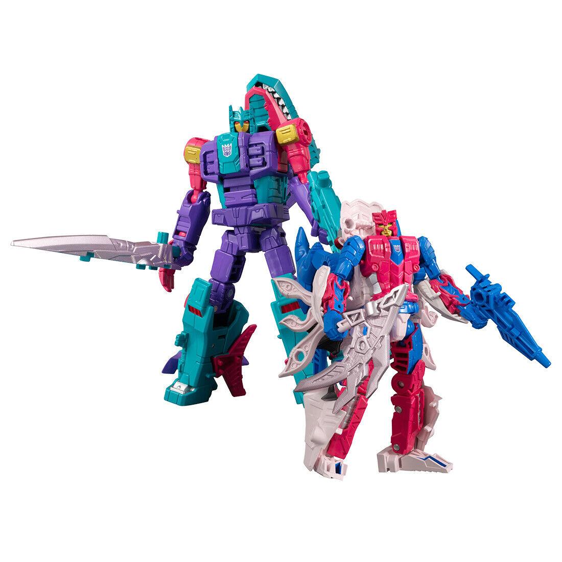 Transformers GENERATION SELECTS King Poseidon Wave3 set (Overbite + Tentakil)