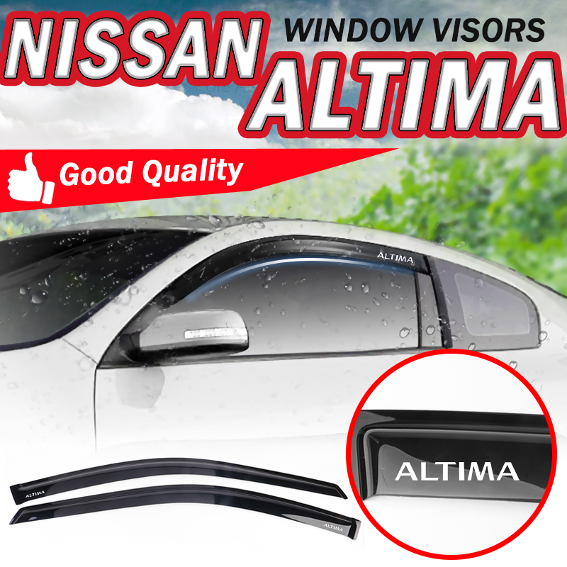 Fit Honda Accord 90-93 Coupe Window Wind Rain Sun Vent Shade Guard Visors 2 Door