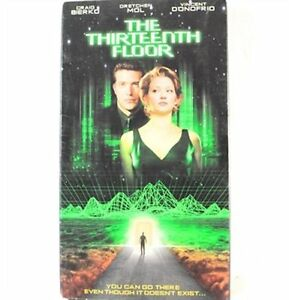 The Thirteenth Floor VHS Movie | eBay