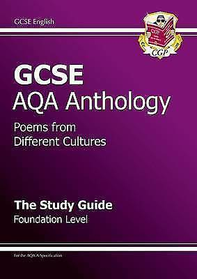 """AS NEW"" GCSE English AQA A Anthology Study Guide - Foundation: Study Guide - Fo"