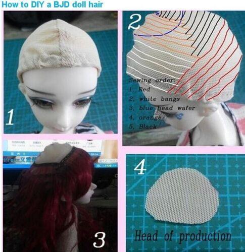 New Doll DIY Curly Hair Wig for 1//3 1//4 1//6 Barbie BJD SD DZ LUTS Dolls 20x100cm