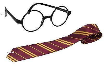 Harry Potter Halloween Abito Cravatta Occhiali Bacchetta Magica Divertimento Festa Di Halloween Per Bambini- Gradevole Al Gusto