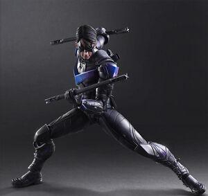 Batman-Arkham-Play-Arts-Kai-Knight-Nightwing-Robin-Action-Figure-Statue-Doll-New