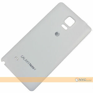 NEW-White-Battery-Back-Cover-for-Samsung-Galaxy-Note-4-N910A-AT-amp-T