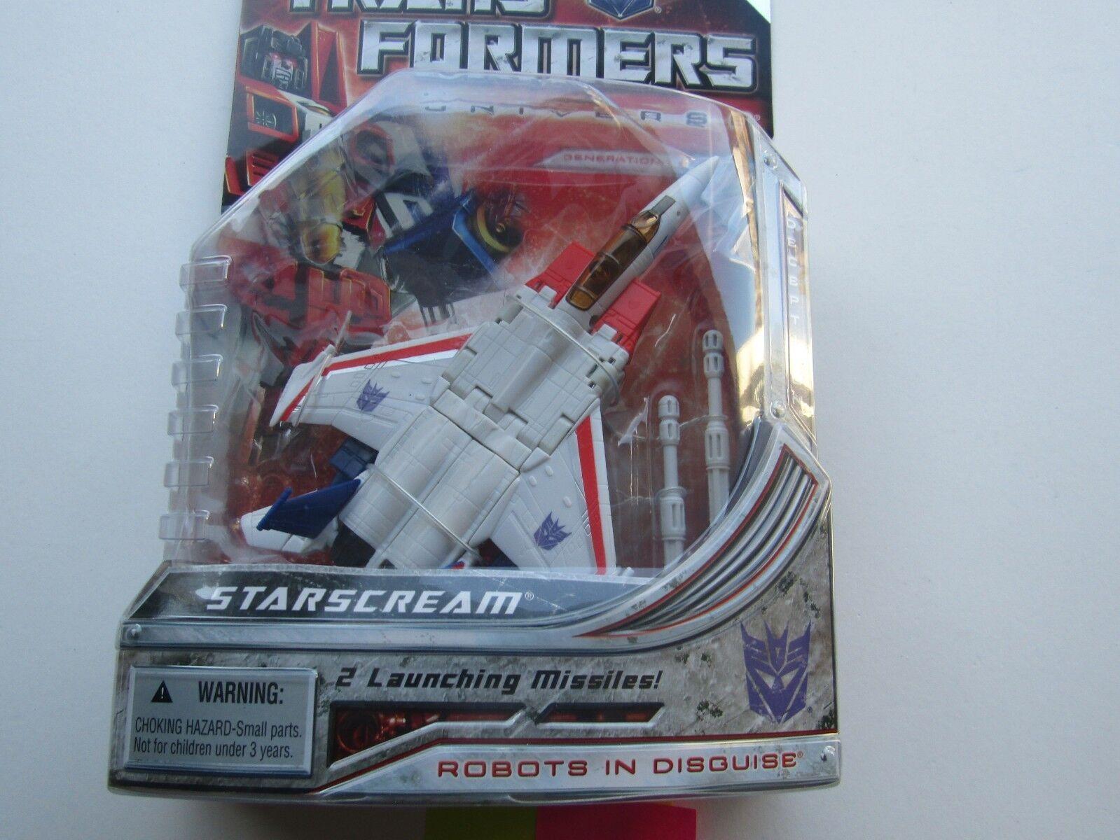 Hasbro Transformers Universe Deluxe Starscream