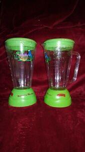 Set Of 2 Collectors Jimmy Buffett's Margaritaville Blender Glasses