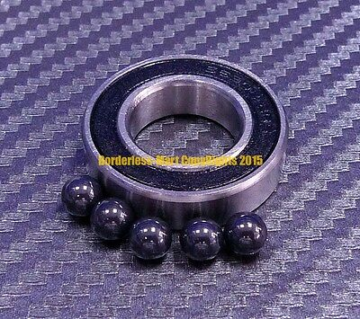 8x19x6 mm 698-2RS Metal Rubber Sealed Ball Bearings 8*19*6 698RS 10 PCS