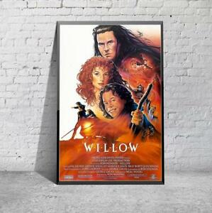 Willow Classic 80s Fantasy Movie Film Poster Print Picture A3 A4 Ebay