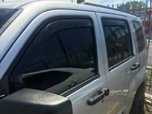 Fits Jeep Liberty 2008-2012 AVS In Channel Window Visors Rain Guards