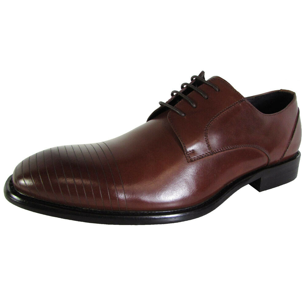 Kenneth Cole New York Mens Joy-Ous Lace Up Oxford Shoes, Tan, US 8.5