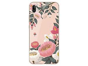 coque silicone huawei p30 lite fleurs