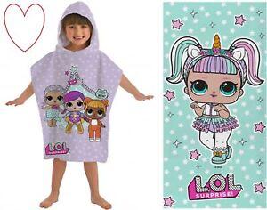 LOL Beach accessories Surprise Dolls Towel Poncho Cotton Swimming Bathtime
