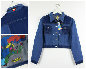 NEW-WRANGLER-by-PETER-MAX-WESTERN-DENIM-JACKET-RETRO-REAL-VINTAGE-XS-S-M-L