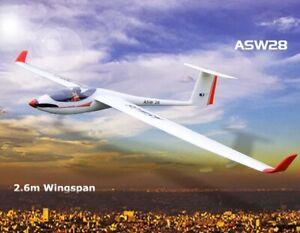 RC-Planeador-Planeador-PNP-ASW28-ASW-28-V2-2540mm-envergadura-EPO-RC-Glider-inclinada