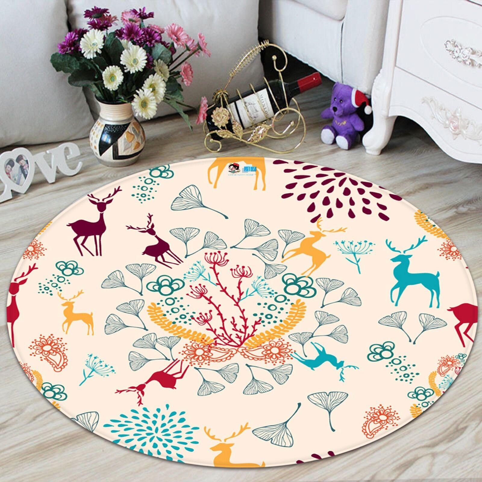 3d navidad Xmas 312 antideslizante alfombra para maletero espacio rondas elegante alfombra de