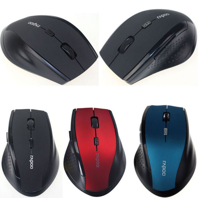 2.4GHz Wireless Optical Gaming Mouse Mice For Computer PC Laptop Black 4 Colors