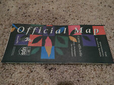 1996 Atlanta Centennial Olympic Games Official Map & Calendar of Events, ACOG