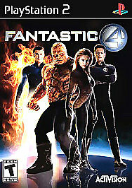 Fantastic-4-PlayStation-2-PS2-Game-Only-10M-Kids-Marvel-Four-1
