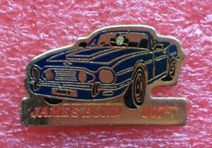 Aston Martin Enameled Lapel Pin 1 1/8x0 9/32in 70er Years ...