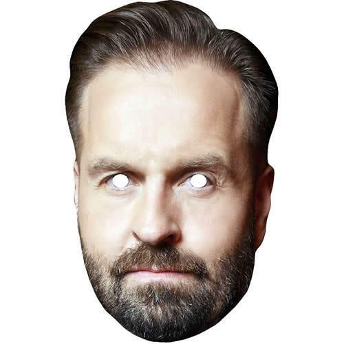 Alfie Boe Celebrity Singer TV Personality Card Face Mask All Masks Are Pre-Cut