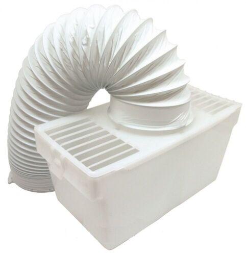 WHITE Knight Universal Asciugatrice Interno Condensatore Kit di Sfiato Scatola e tubo fless 2532