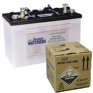 basement watchdog backup battery battery acid ebay