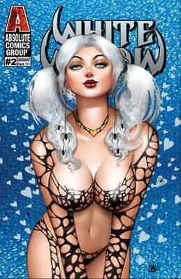 WHITE WIDOW 2 NATHAN SZERDY FROZEN HEARTS HOLOGRAPHIC FOIL VARIANT NM