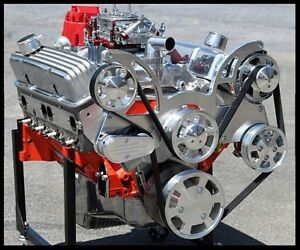Details about CHEVY TURN KEY 427 STAGE 5 2 DART BLOCK AFR HEADS CRATE MOTOR  628 hp-SERPENTINE