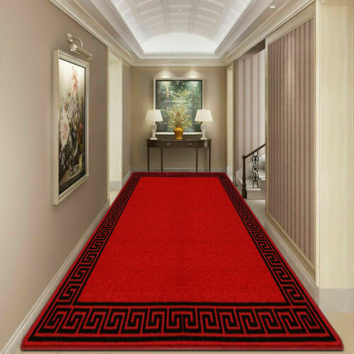 Extra Long Luxury Hall Hallway Runners Bedroom Kitchen Rug Carpet Runner Rugs