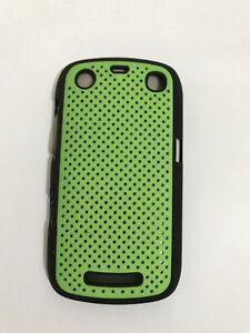 BlackBerry-Curve-9350-9360-9370-Hard-Case-Skin-Cover-Holder-Bumper-Fascia-Green