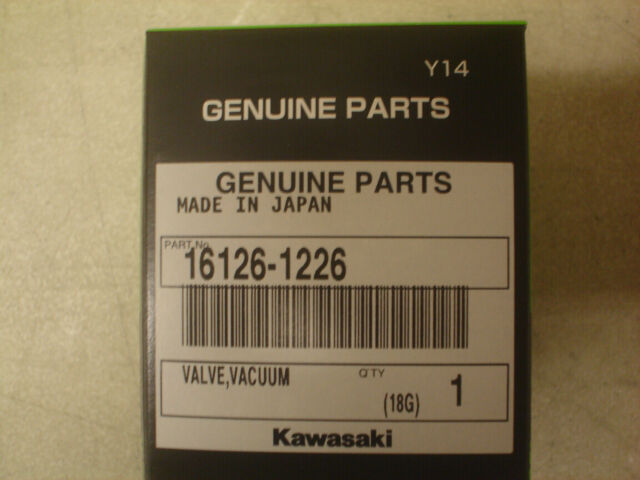 Kawasaki OEM Carburetor Diaphragm Valve Slide 02-13 BruteForce 650 KFX 700