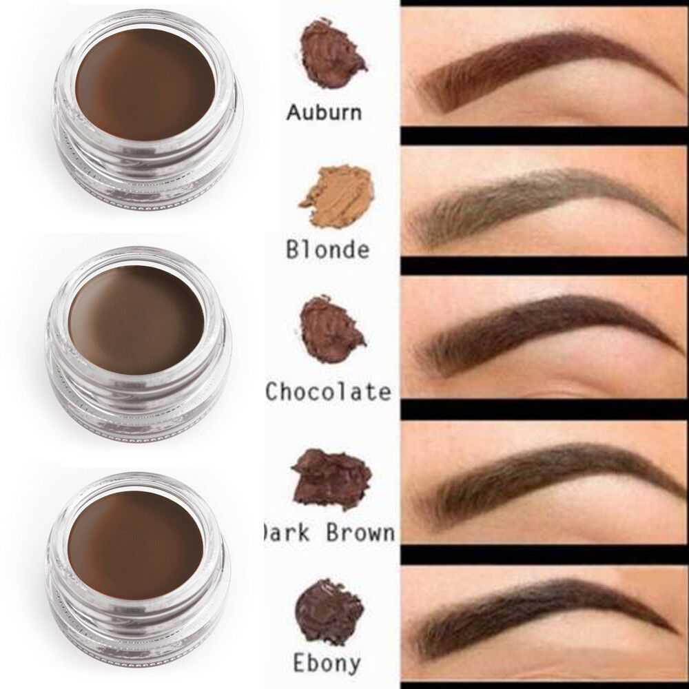 Women Eyebrow Cream Tint Enhancer Long Time Waterproof Brow Gel Eye Cosmetic 8