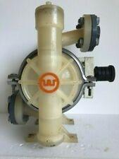 Used Wilden P2 Polypropylene 1 Inch Diaphragm Pump