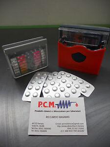 POOL-TESTER-MISURATORE-PH-E-CLORO-PISCINE-REAGENTI-PER-20-PROVE-PCM