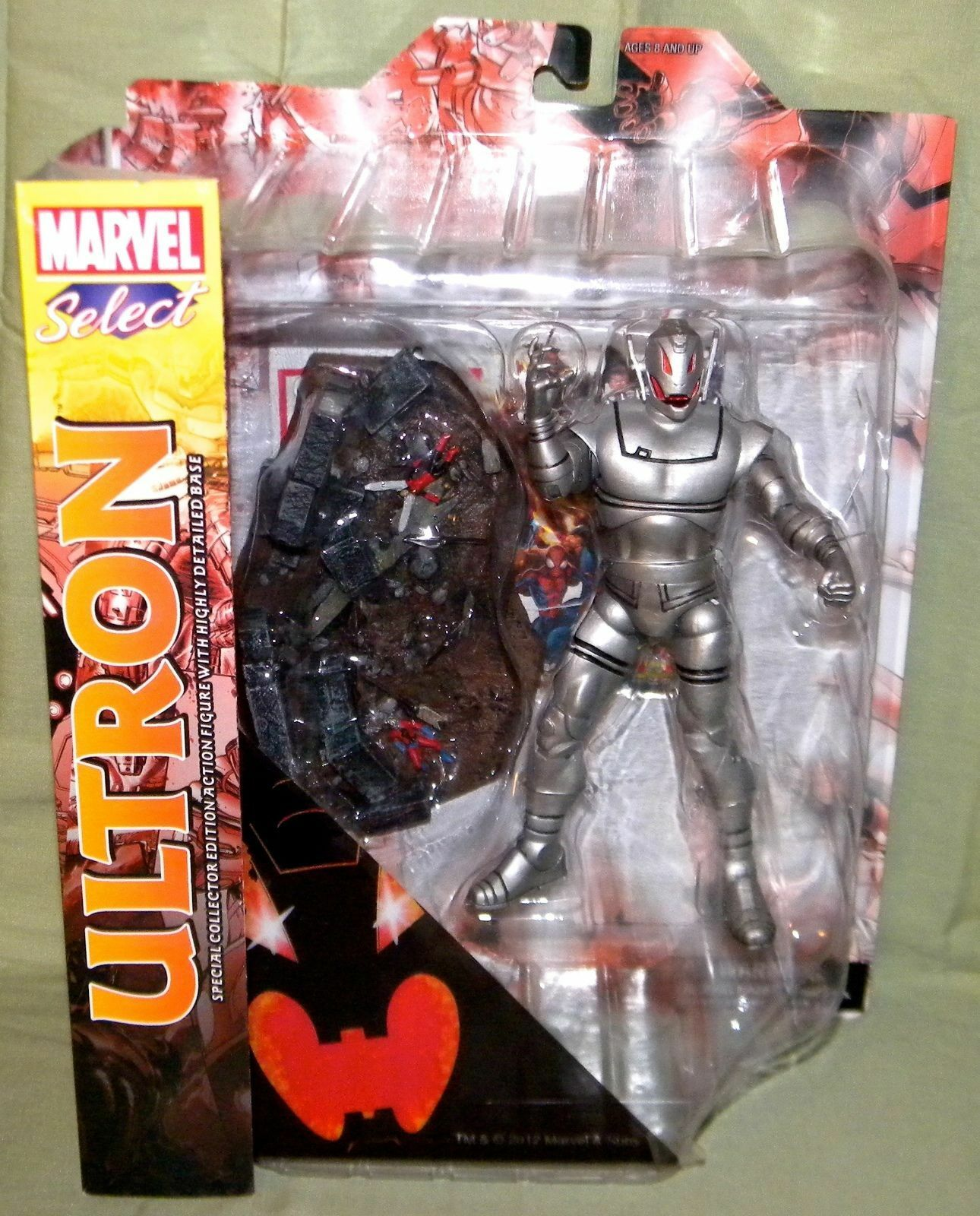 Marvel Select - Avengers Age Of Ultron - Action Figure Diamond Select - NEW MINT