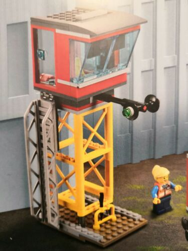 *** Lego City ferroviaire pupitre//Control Center NEUF 60197 60198